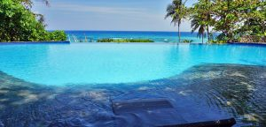 Amun Ini Beach Resort Swimming Pool