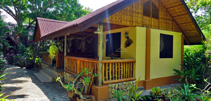 Bananaland Cottages on Alona Beach in Panglao