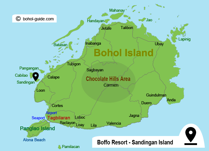 Boffo Resort Location Map