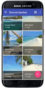 Bohol App Panglao Beaches