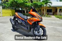 Bohol Motorbike Business Yamaha Aerox