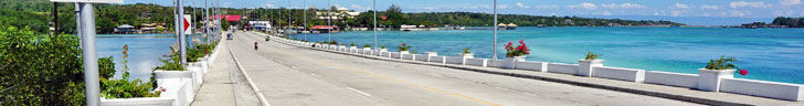 Bohol to Panglao Bridge