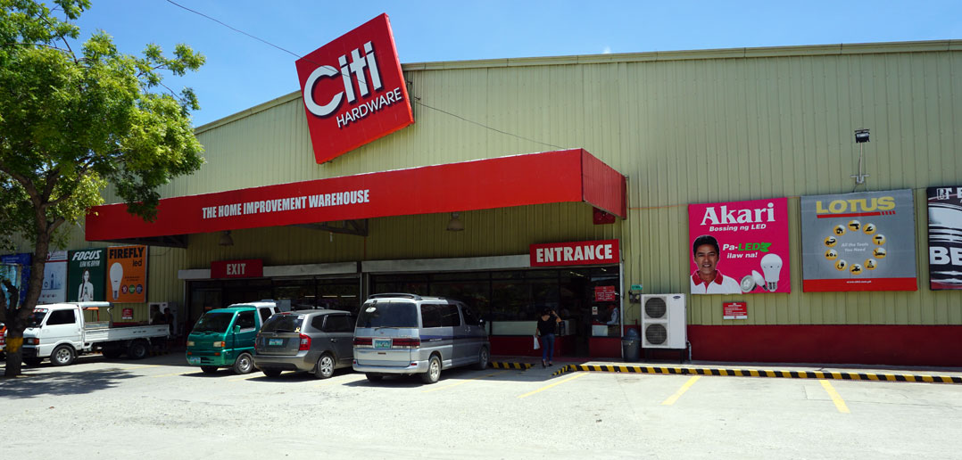 City Hardware in Tagbilaran - Bohol