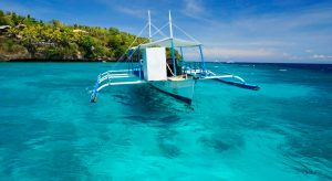 Dive Boat Coco White Beach Bohol