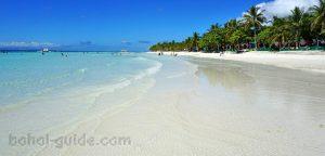 Dumaluan White Beach Panglao Bohol