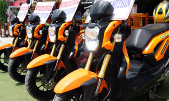 Honda Zoomer Rental Business Bohol