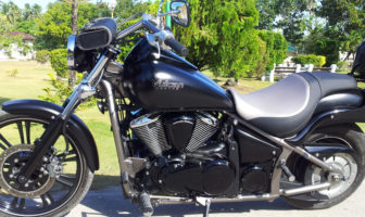 Custom Big Bike Kawasaki Vulcan 900cc