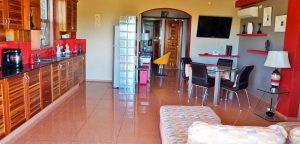 Living Room Apartment Panglao Bohol