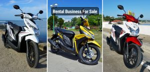 Motorcycle Scooter Rental Business Bohol