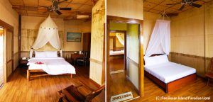 Pamilacan Island Paradise Hotel Room