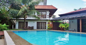 Panglao Palms Apartelle - Swimming Pool