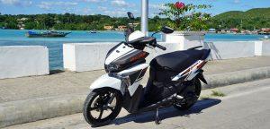 Panglao Scooter Yamaha Mio rental