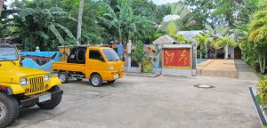 Parking Area Panglao Apartments