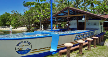 Polaris Beach Dive Resort on Cabilao Island
