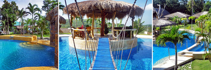 Pool Area Panglao Condominium Bohol