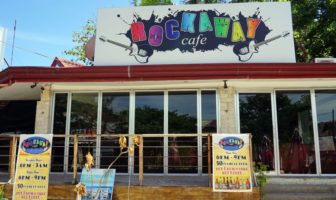 Rockaway Cafe on Alona Beach in Panglao
