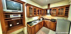 Sun Apartelle Kitchen