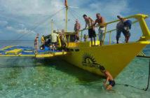 Sun Divers Banca Boat