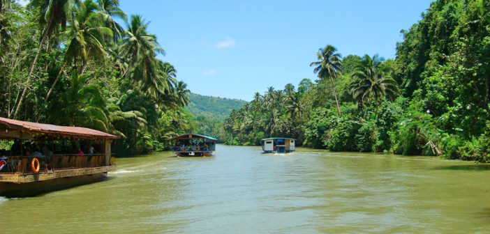Take Loboc River Cruise