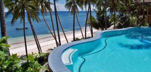 Infinity Pool - Anda white beach resort